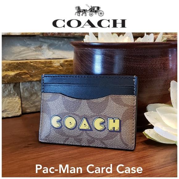 *SALE - 1 left!!!* NEW Coach Card Case w/ Pac-Man